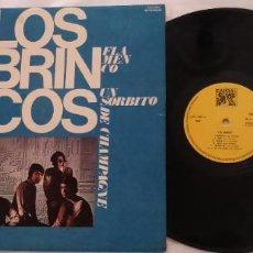Discos de vinilo: LP LOS BRINCOS. FLAMENCO, LOLA, BORRACHO, MEJOR, UN SORBITO DE CHAMPAGNE... 1976.. Lote 268759974