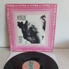 Discos de vinilo: DIVINE / SHOOT YOUR SHOT / MAXI SG - 0 RECORDS-1982 / MBC. ***/***. Lote 268760869