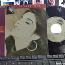 Discos de vinilo: KIARA Y GUILLERMO DÁVILA SINGLE PROMO POR AMBAS CARAS TESORO MÍO B.S.O. LA REVANCHA ESPAÑA 1990. Lote 268761139