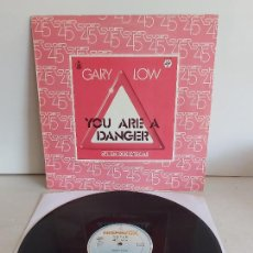 Discos de vinilo: GARY LOW / YOU ARE A DANCER / MAXI SG - HISPAVOX-1982 / MBC. ***/***. Lote 268761234