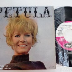 Discos de vinilo: PETULA CLARK - LES JAMES DEAN +3 - EP VOGUE FRANCIA 1964. Lote 268764324