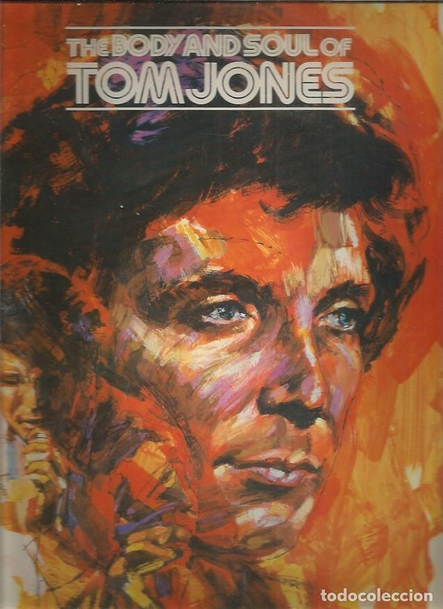 TOM JONES BODY AND SOUL (Música - Discos - LP Vinilo - Pop - Rock - Internacional de los 70)