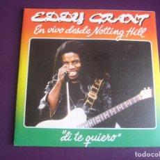 Discos de vinilo: EDDY GRANT – EN VIVO DESDE NOTTING HILL - SG MOVIEPLAY 1982 - REGGAE POP NEW WAVE. Lote 268770494
