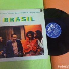 Discos de vinilo: LP , JOÂO GILBERTO, CAETANO VELOSO, GILBERTO GIL, MARIA BETHANIA , BRASIL, VER FOTOS. Lote 268771479