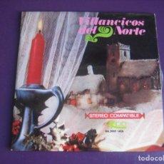 Discos de vinil: VILLANCICOS DEL NORTE - EP EKIPO 1967 - RONDALLA BIDASOA NAVARRA - CANTABRIA - EUSKADI - PAIS VASCO. Lote 268772254