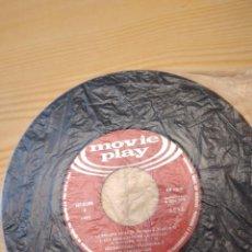 Discos de vinil: BAL-5 DISCO 7 PULGADAS SIN CARATULA EL CAPITAN TAN. Lote 268777099