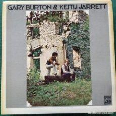 Discos de vinilo: GARY BURTON & KEITH JARRETT - GARY BURTON & KEITH JARRETT (LP, ALBUM) (1971/US). Lote 268799384