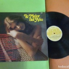 Discos de vinilo: LP , LO MEJOR DEL AÑO , LEMON RECORDS , VER FOTOS. Lote 268800114