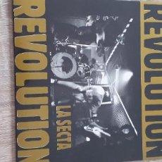 Discos de vinilo: LA SECTA REVOLUTION JOSETXO (LOS BICHOS) SAND. Lote 268807329