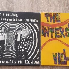 Discos de vinilo: THE INTERSTELLAR VILLAINS MUNSTER RECORDS 2 SINGLES AUSTRALIAN ROCK. Lote 268807564