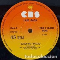 Discos de vinilo: LAID BACK – SUNSHINE REGGAE - MAXI-SINGLE SPAIN 1983. Lote 268808089