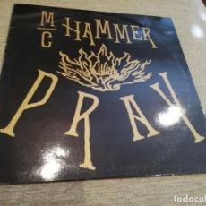 Discos de vinilo: MC HAMMER-PRAY. MAXI PROMOCIONAL ESPAÑA. Lote 268818789