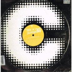 Discos de vinilo: HIT 'N' RUN - JUMP 94 - MAXI SINGLE 1994 - ED. SUECIA. Lote 268820929