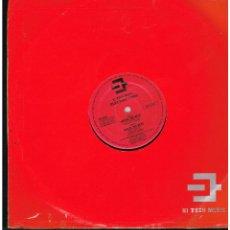 Discos de vinilo: ELECTRIC CHOC - SHOCK THE BEAT - MAXI SINGLE 1990 - ED. ITALIA. Lote 268822594
