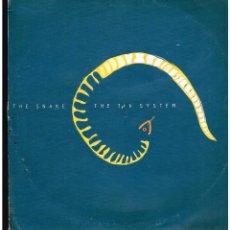 Discos de vinilo: THE SNAKE - THE 5TH SYSTEM - MAXI SINGLE 1998 - ED. BELGICA. Lote 268823324