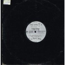 Discos de vinilo: THE OBJECT - THE WAY IT IS - MAXI SINGLE 1992 - ED. ALEMANIA. Lote 268830214