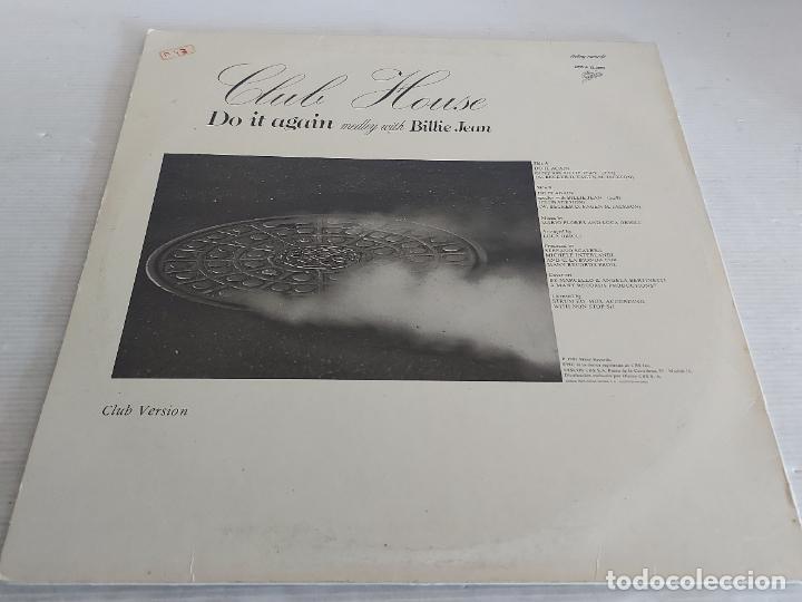 Discos de vinilo: CLUB HOUSE / DO IT AGAIN (MEDLEY WITH BILLIE JEAN) MAXI SG-EPIC-1983 / MBC. ***/*** - Foto 2 - 268833309