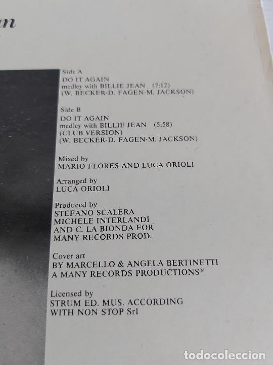 Discos de vinilo: CLUB HOUSE / DO IT AGAIN (MEDLEY WITH BILLIE JEAN) MAXI SG-EPIC-1983 / MBC. ***/*** - Foto 3 - 268833309
