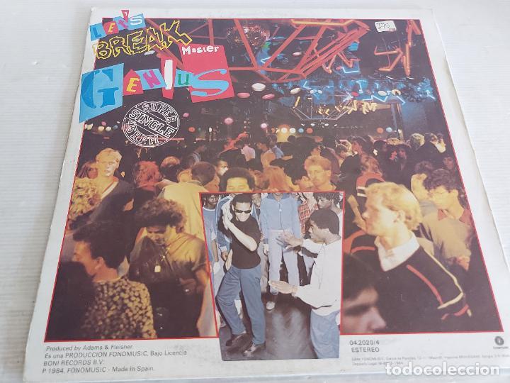 Discos de vinilo: MASTER GENIUS / LETS BREAK / MAXI SG - BREAK RECORDS-1984 / MBC. ***/*** - Foto 2 - 268834799