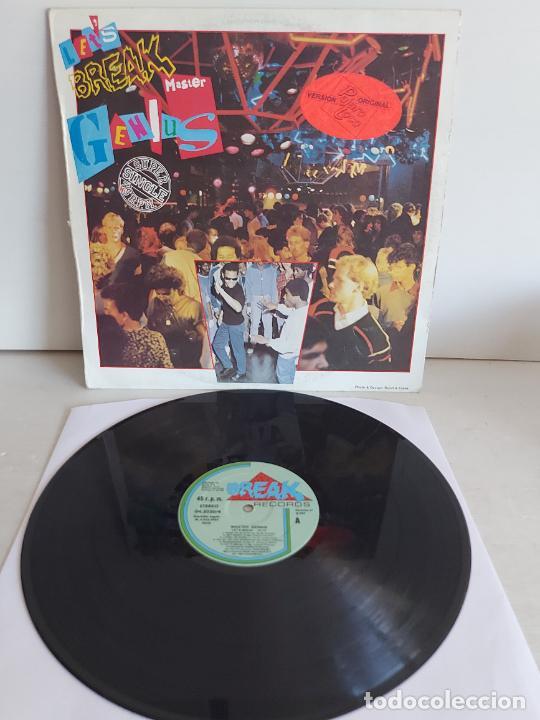 MASTER GENIUS / LET'S BREAK / MAXI SG - BREAK RECORDS-1984 / MBC. ***/*** (Música - Discos de Vinilo - Maxi Singles - Electrónica, Avantgarde y Experimental)