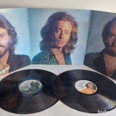 Discos de vinilo: BEE GEES / GREATEST / DOBLE LP-GATEFOLD(TRÍPTICO) RSO-1979 / MBC. ***/***. Lote 268838884