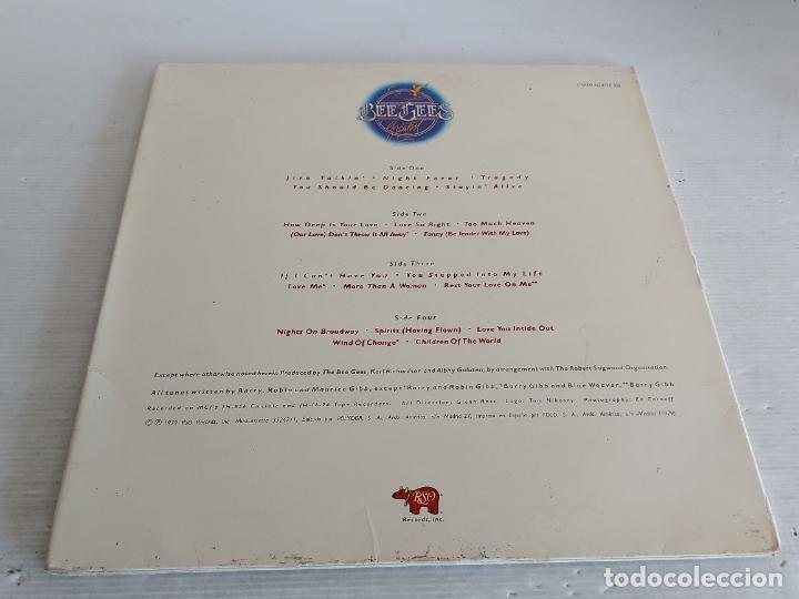 Discos de vinilo: BEE GEES / GREATEST / DOBLE LP-GATEFOLD(TRÍPTICO) RSO-1979 / MBC. ***/*** - Foto 3 - 268838884