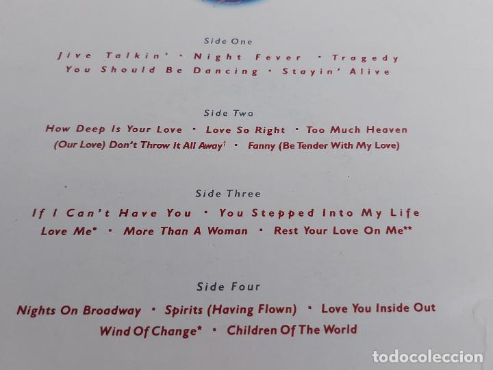 Discos de vinilo: BEE GEES / GREATEST / DOBLE LP-GATEFOLD(TRÍPTICO) RSO-1979 / MBC. ***/*** - Foto 4 - 268838884
