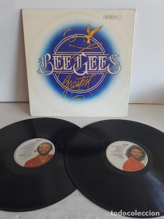 Discos de vinilo: BEE GEES / GREATEST / DOBLE LP-GATEFOLD(TRÍPTICO) RSO-1979 / MBC. ***/*** - Foto 2 - 268838884