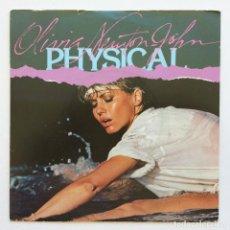 Discos de vinilo: OLIVIA NEWTON-JOHN – PHYSICAL / THE PROMISE (THE DOLPHIN SONG) SCANDINAVIA,1981 POLAR. Lote 268839434
