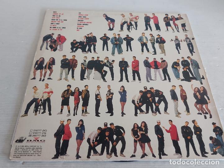 Discos de vinilo: RAP DE AQUÍ / VARIOS ARTISTAS / LP - ARIOLA-1990 / MBC. ***/*** LETRAS. - Foto 2 - 268839724