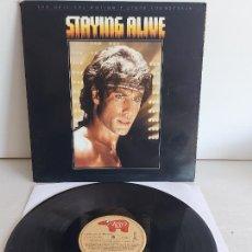 Discos de vinilo: B.S.O. / STAYING ALIVE / LP - RSO RECORDS-BSO-1983 / MBC. ***/***. Lote 268841319