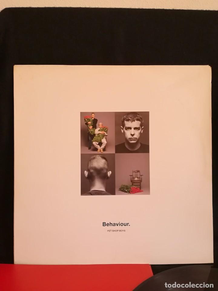 LP PET SHOP BOYS - BEHAVIOUR (LP, ALBUM), 1990 ESPAÑA, EXCELENTE. (Música - Discos - LP Vinilo - Pop - Rock Internacional de los 90 a la actualidad)