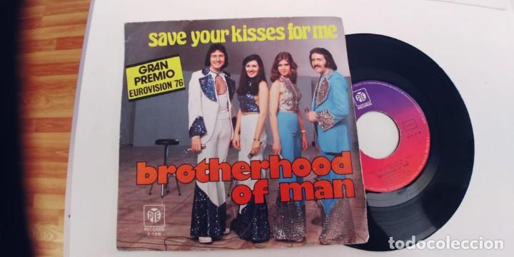 BROTHERHOOD OF MAN-SINGLE EUROVISION 76 (Música - Discos - Singles Vinilo - Festival de Eurovisión)
