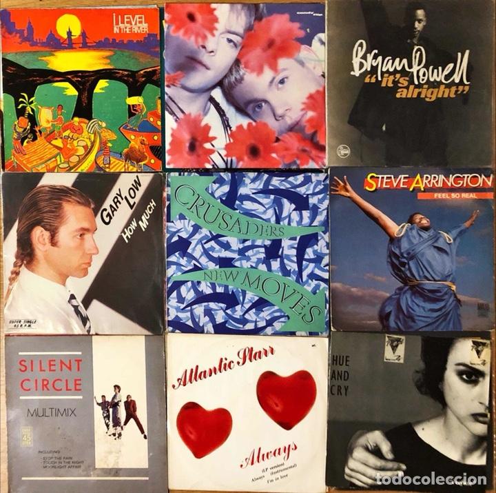 Discos de vinilo: Lote 20 Maxi singles, Italo Disco, Synth pop - Foto 2 - 268855639