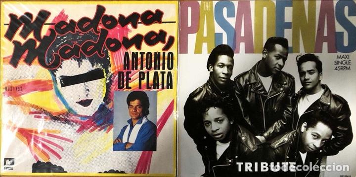 Discos de vinilo: Lote 20 Maxi singles, Italo Disco, Synth pop - Foto 3 - 268855639