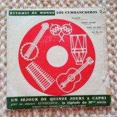 """Discos de vinilo: EP 7"""". LOS CUMBACHEROS. Lote 268866584"""