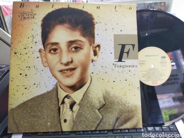 FRANCO BATTIATO LP FISIOGNOMICA ESPAÑA 1988 CARPETA DOBLE (Música - Discos - LP Vinilo - Canción Francesa e Italiana)
