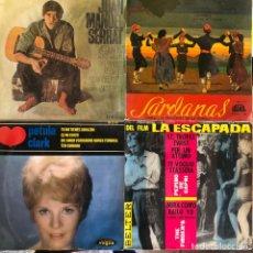 Discos de vinilo: LOTE 4 DISCOS DE VINILO. Lote 268871199