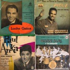Discos de vinilo: LOTE 4 DISCOS DE VINILO. Lote 268871264