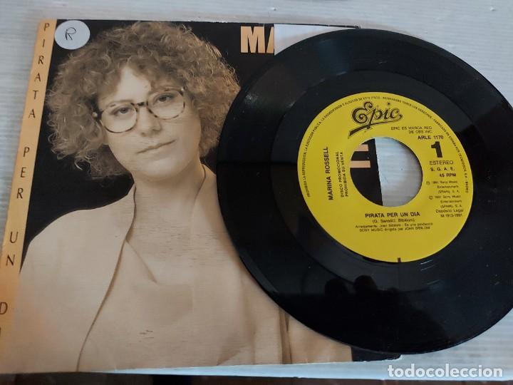 Discos de vinilo: MARINA ROSSELL / 3 SINGLES PROMOCIONALES / PROCEDENTES DE EMISORA / MUY BUENA CALIDAD. - Foto 2 - 268871669