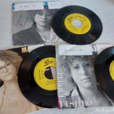Discos de vinilo: MARINA ROSSELL / 3 SINGLES PROMOCIONALES / PROCEDENTES DE EMISORA / MUY BUENA CALIDAD.. Lote 268871669