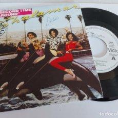 Discos de vinilo: SHALAMAR / THE SECOND TIME AROUND / SINGLE-PROMO - RCA VICTOR-1980 / LUJO. ****/****. Lote 268878704