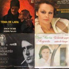Discos de vinilo: LOTE 4 DISCOS DE VINILO. Lote 268881124