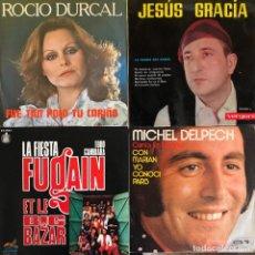 Discos de vinilo: LOTE 4 DISCOS DE VINILO. Lote 268881139
