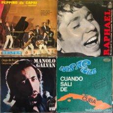 Discos de vinilo: LOTE 4 DISCOS DE VINILO. Lote 268881359