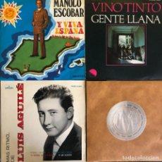 Discos de vinilo: LOTE 4 DISCOS DE VINILO. Lote 268881479