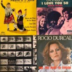 Discos de vinilo: LOTE 4 DISCOS DE VINILO. Lote 268881559