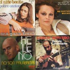 Discos de vinilo: LOTE 4 DISCOS DE VINILO. Lote 268881724
