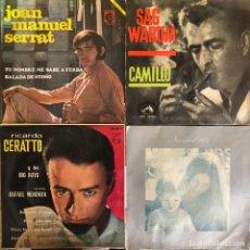 Discos de vinilo: LOTE 4 DISCOS DE VINILO. Lote 268881829