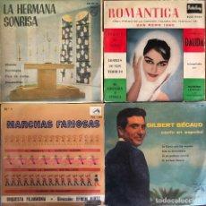 Discos de vinilo: LOTE 4 DISCOS DE VINILO. Lote 268881959